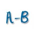 A - B