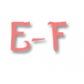 E - F